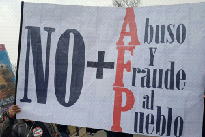 Cartel contra AFPs