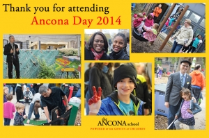 Outdoor Learning Space Announced at Ancona Day 2014 at the progressive Ancona School in Chicago