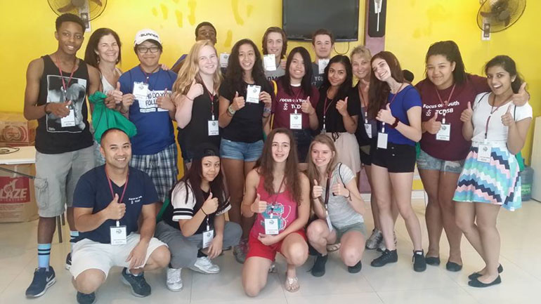 Mission team from Toronto Catholic schools immerses in ANCOP communities
