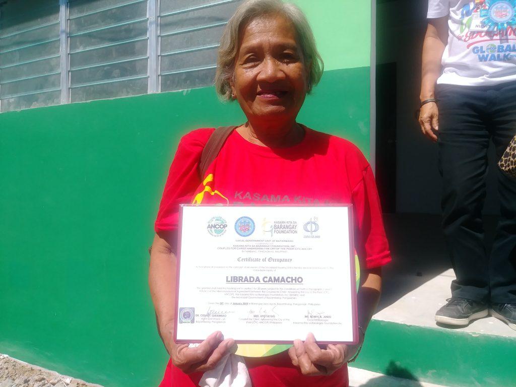 Beneficiary of Neighbourhood Association
