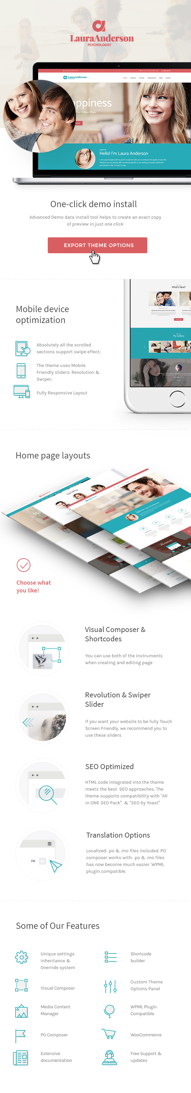 Psychologist | Therapy and Counseling WordPress Theme - 1