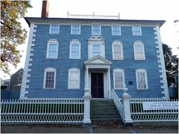Moffatt-Ladd House (1763) a Portsmouth in Market Street
