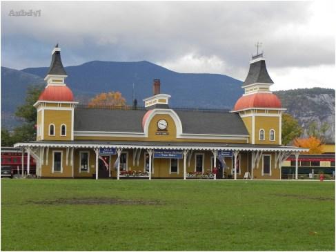 La stazione di North Conway