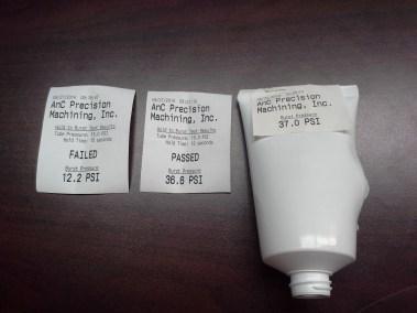 PTS-100 Reciept Examples