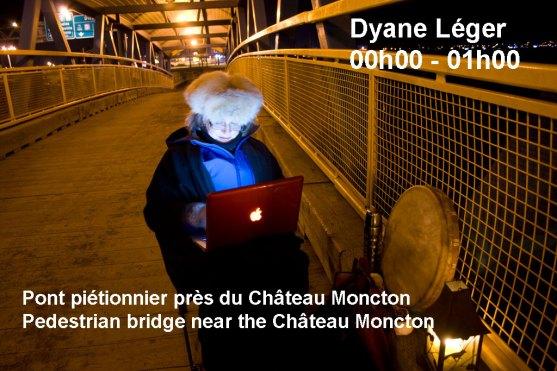 Moncton 24. Dyane Léger