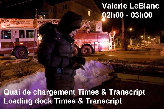 Moncton 24. Valerie LeBlanc