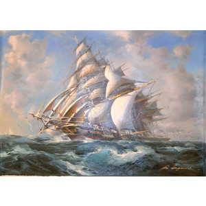 ①荒天下の帆船 . jpg (2)