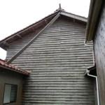 壊れた屋根を補修しました(福島町)