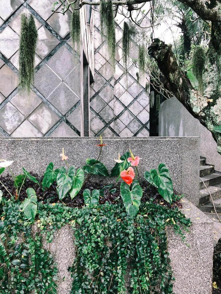 Gardens at Nu Art Gallery, Bandung, Indonesia.
