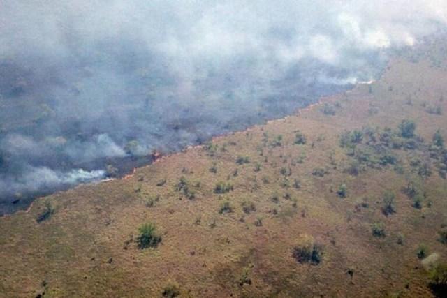 Incêndio na Ilha do Bananal em 2020