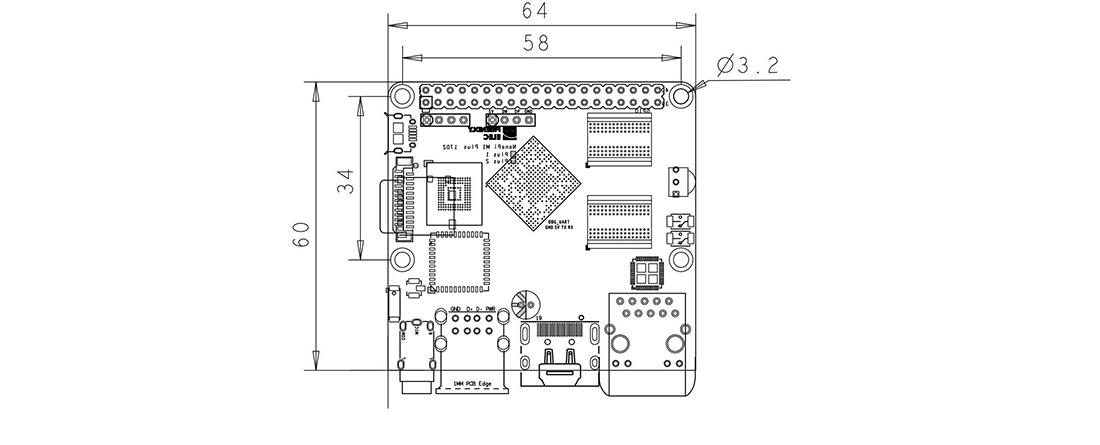 NanoPi-M1 PLUS Allwinner H3 Quad-Core Cortex-A7 Ubuntu