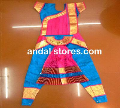 Andal Stores Kolkata Bharatnattyam Dance Costume Sarees