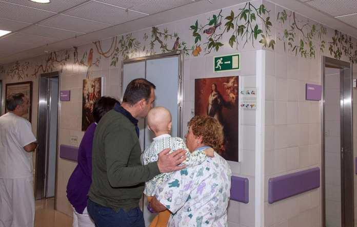 Exposición Murillo en el Hospital Infantil del Virgen del Rocío