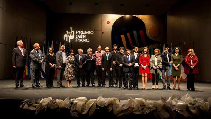 Foto familia - Premio Piano Jaen