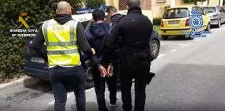 Detenidos robo con violencia e intimidacion