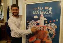 Cartel feria Málaga 2018