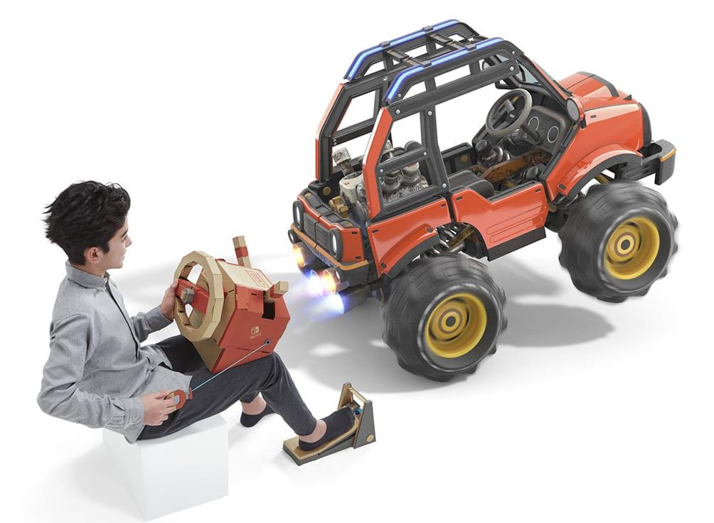 Kit de vehiculos Nintendo Labo