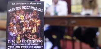 Presentación martes de carnaval Cadiz