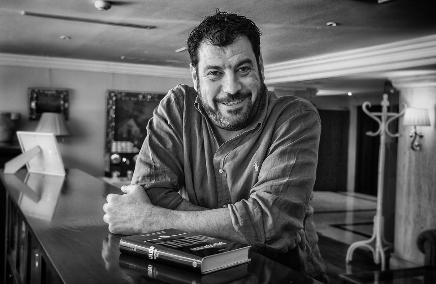 Santiago Díaz autor de la novela Talión
