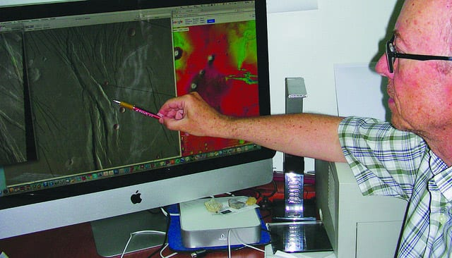 Análisis por ordenador de las imágenes MDIM del Servicio Geológico de los Estados Unidos