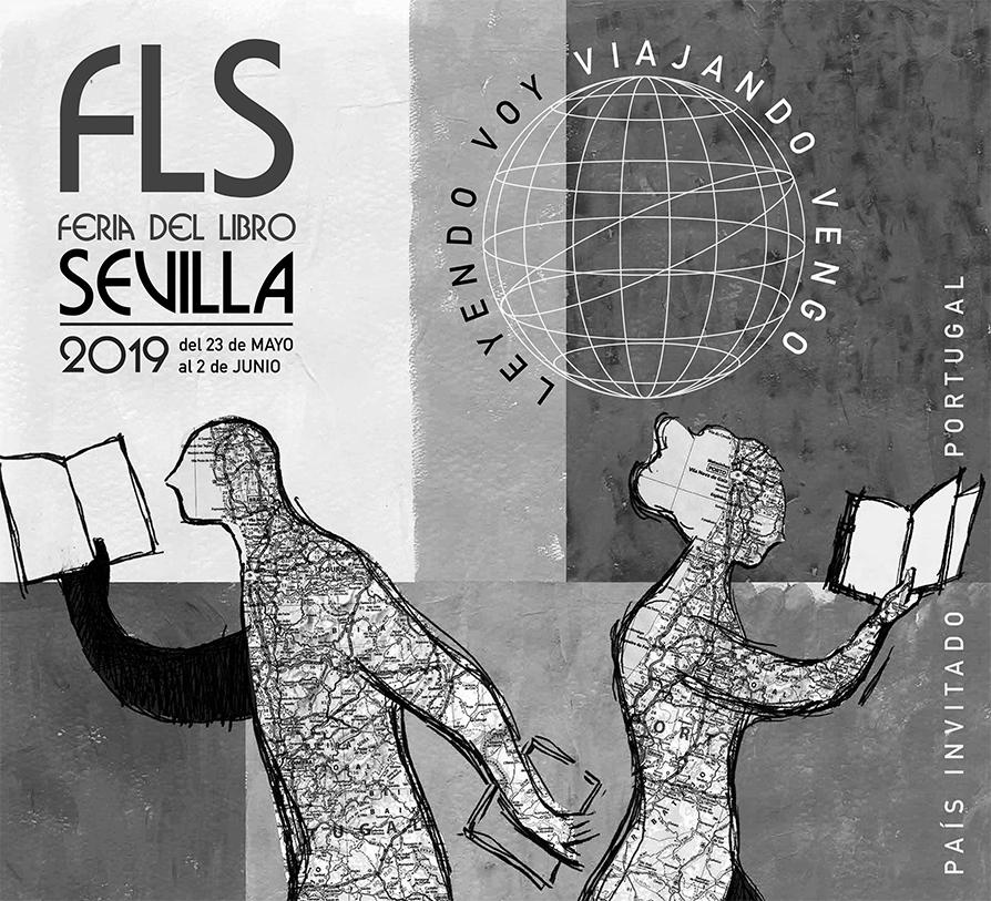 Cartel Feria del libro Sevilla