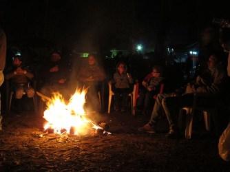 A night in El Rocio. Pic from huelvamotera.com