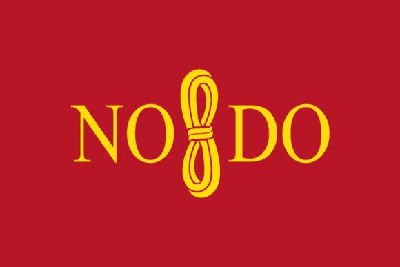 Il logo del comune di Siviglia: NO8DO.