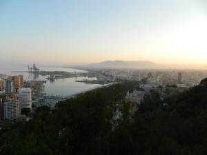 Cosa vedere a Malaga - panorama