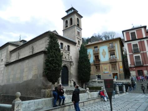 Cosa-vedere-a-Granada_Santa-ana_Andalusia