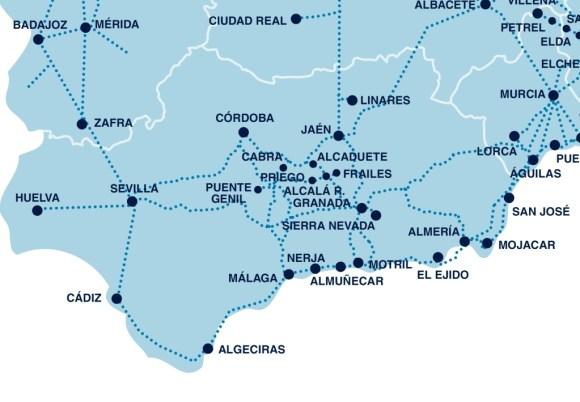 Autobus Andalusia
