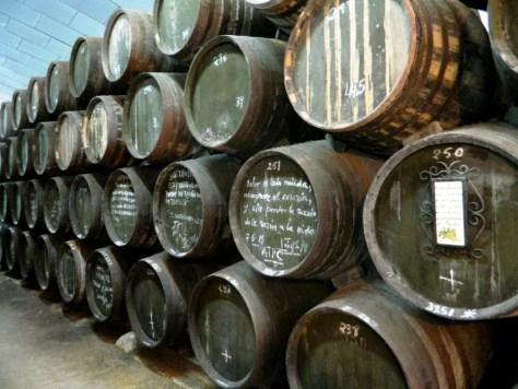 Vino Andalusia Fino Amontillado botti