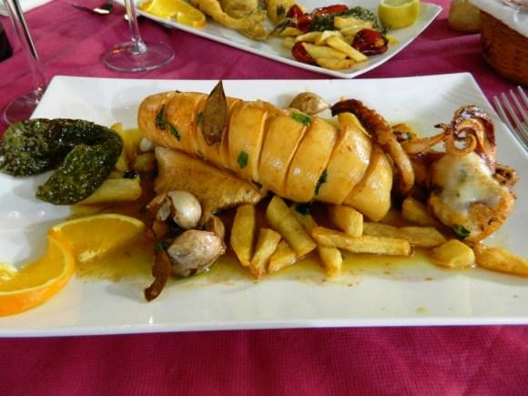 cosa mangiare andalusia pesce calamar