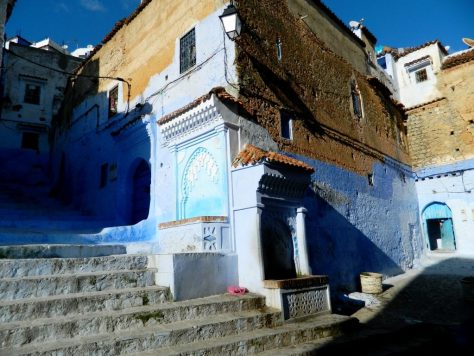 cosa vedere chefchaouen marocco medina fontana