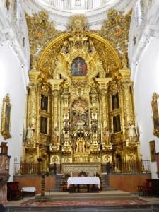 cosa_vedere_osuna_siviglia_andalusia_collegiata_altare