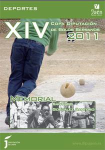 Cartel XIV Copa Diputación de Bolos Serranos