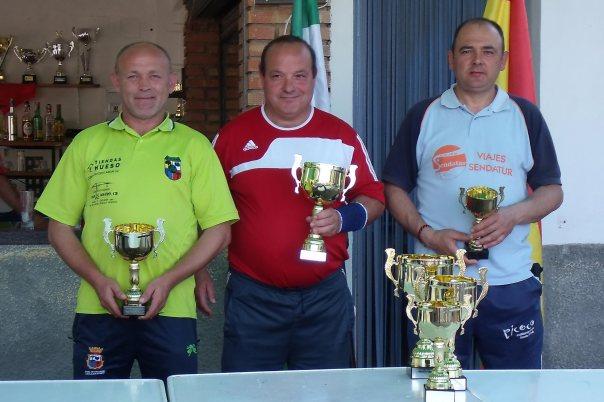Podium-2ª-categoría-XV-Copa-Federación-de-bolo-andaluz