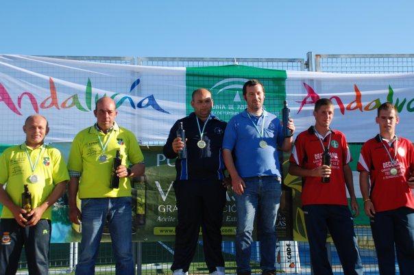 Podium-2ª-categoria-Campeontato-Andalucia-Bolo-Andaluz-parejas