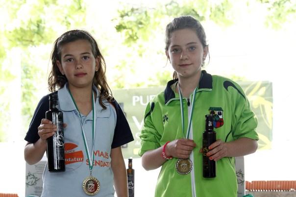 podium cedetes femeninas campeonato andalucia bolo andaluz montaña 2013