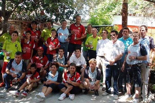 Gadadores IV Copa Diputacion de bolo andaluz