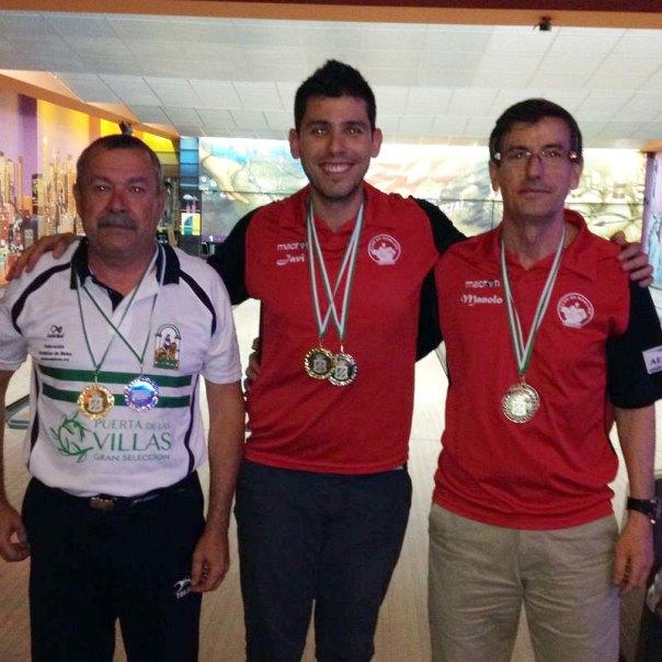 podium-masculino-campeonato-de-andalucia-bowling-2014