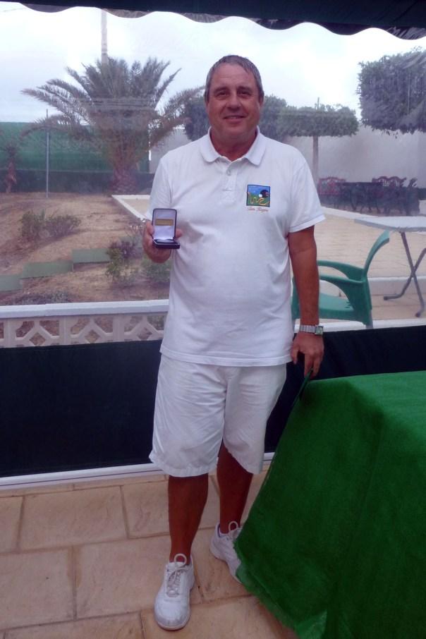 Campeonato de Andalucía Bolo Césped Tom Rogers Singles Winner
