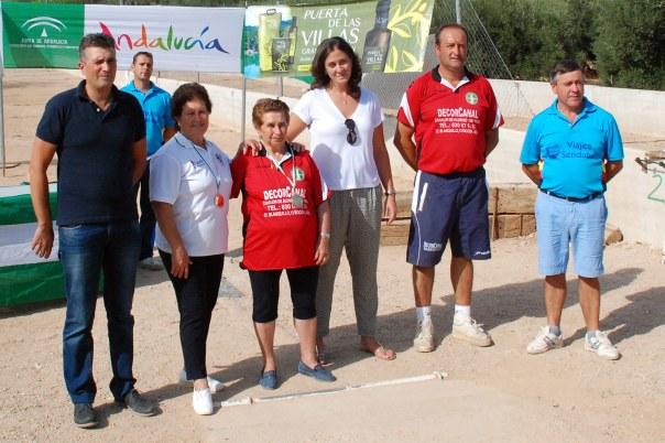 Podium-Veteranas-Campeonato-de-Andalucia-Bolo-Andaluz-Montaña-2014