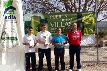 Podium 1ª masculina torneo adlas circuito regional bolo andaluz