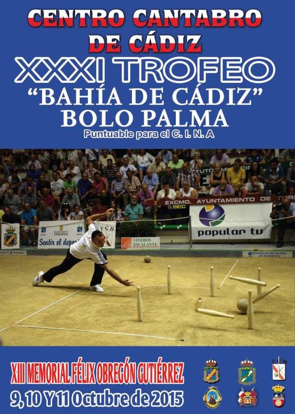 Torneo Bahia de Cadiz bolo palma 2015