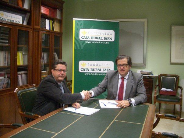 Firma convenio FAB fundacion  CRJ 2015 2