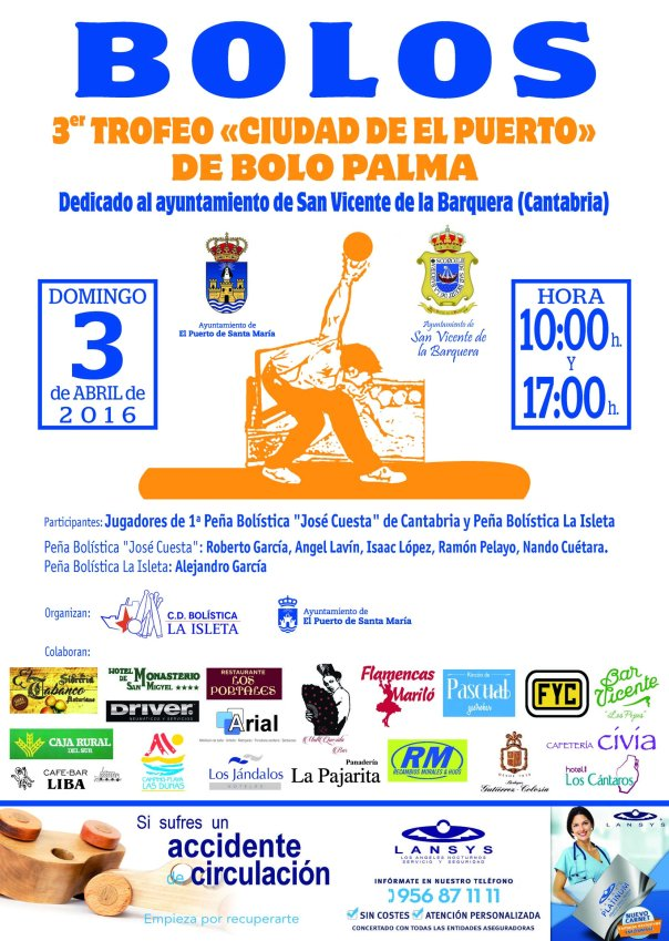 CartelTrofeo LaIsleta2016