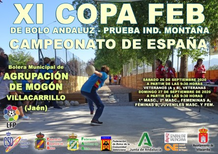 CARTEL COPA FEB MONTAÑA RED