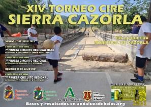 cartel CIRE SIERRA CAZORLA red