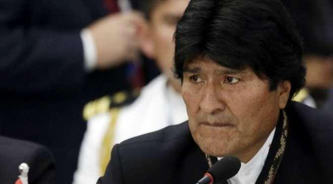 Gobierno dice que Argentina tendrá que deshacerse de Evo Morales tarde o temprano