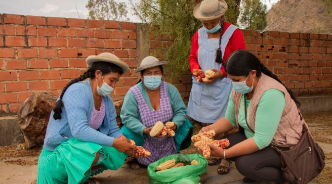 Alcaldía entrega  semillas, urea y abono en la comunidad Sella Las Quebradas